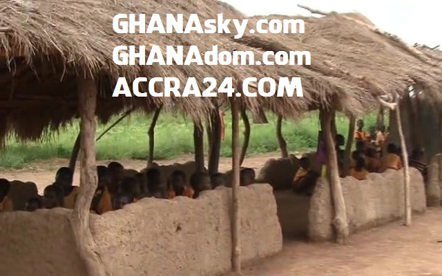 [Video] Poor & shocking Education System in Ghana  - Binchap primary school