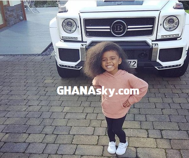 Andre Dede Ayew  Baby Girl Turns 4