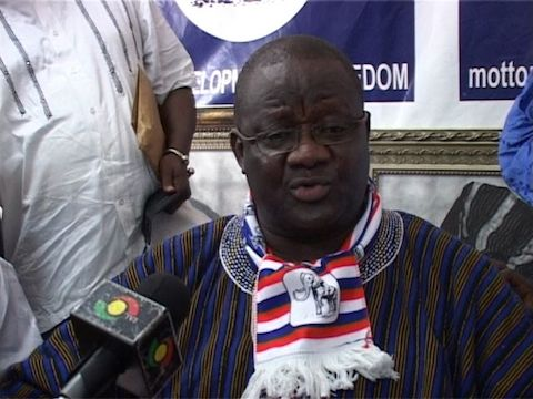 Paul Afoko suspended as NPP Chairman
