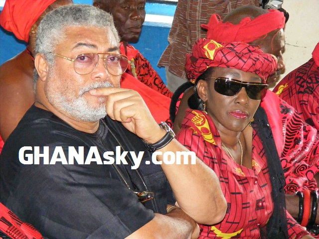 I know Rawlings had his eyes on other women - Nana Konadu