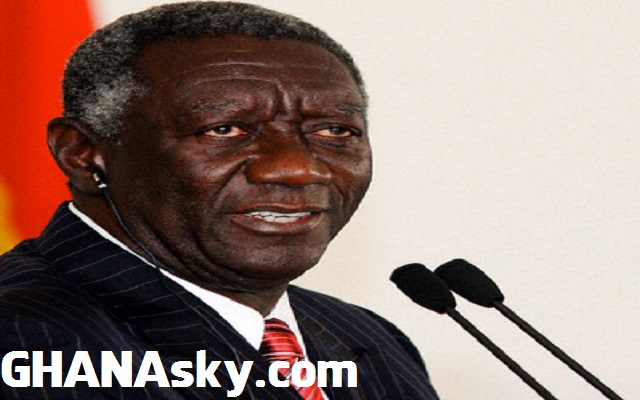 Ghana will collapse if Mahama wins - Kufuor