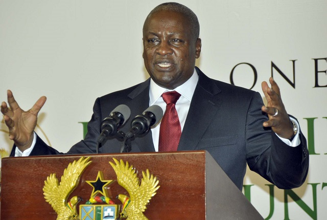 Mahama tells Ghanaians change incompetent governments