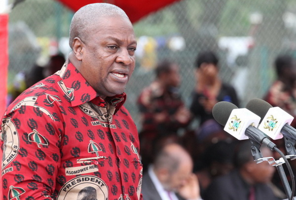 "[Audio] NPP taking ""patapaa"" stance on voters' register – Mahama"