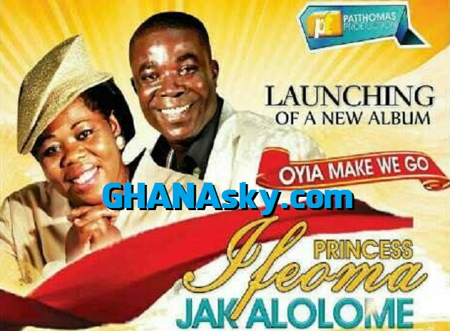 [Video] Ɛyɛ Ndwom Foforo! Gospel Music Album Launching! - Princess Ifeoma & Jak Alolome