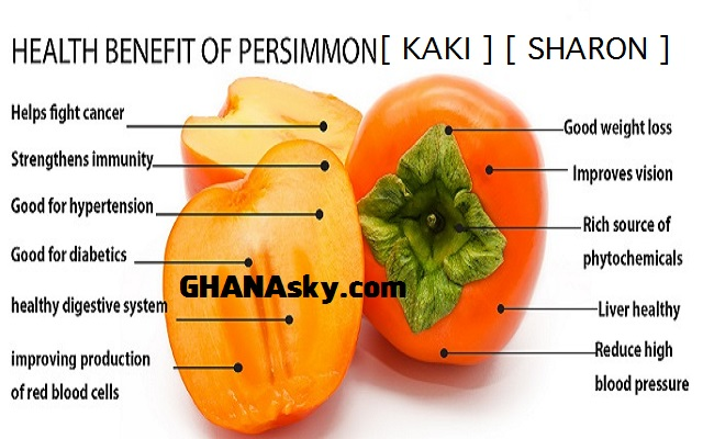 Health benefits of eating Persimmon (Kaki/Sharon) fruits and how to change your genetic code