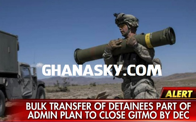 Transfer of 10 detainees brings Guantanamo Bay population under 100
