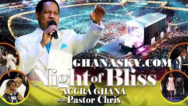 Pastor Chris Songs of the Spirit at Night of Bliss Ghana 2016