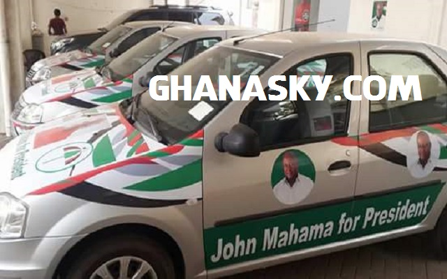 Prez. Mahama & NDC using Ghanaians hard earned ‪TAX