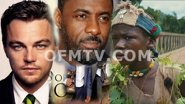 Abraham Attah, Leonardo DiCaprio & Idris Elba As Oscar Winners