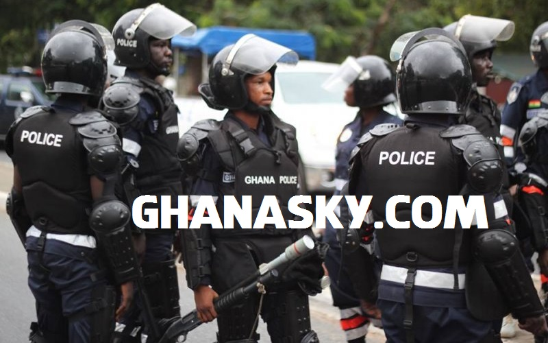 [VIDEO] Ghana Armed Robbery Scene At Abossey-Okine, Accra.