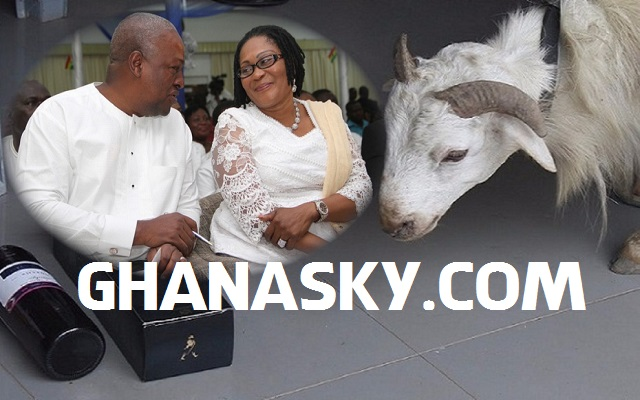 Nkoranza Chief Donates Victory Ram To President Mahama [Video]
