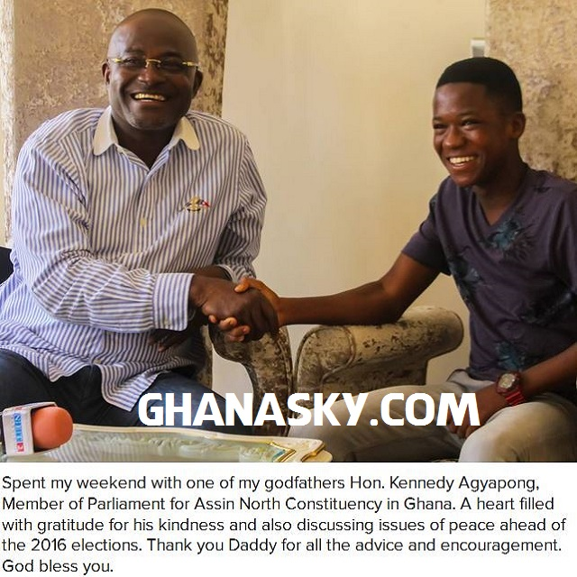 Kennedy Agyapong Paid My Fees - Abraham Atta