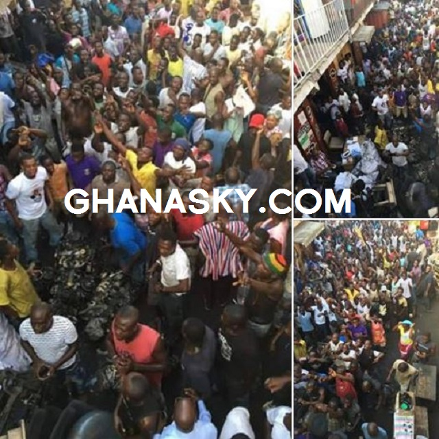 Spare parts dealers donated GHc 200,000 to Akufo-Addo