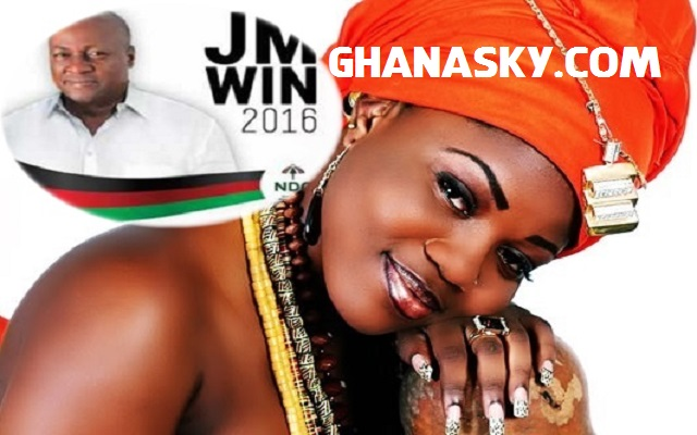 Mzbel finally releases 'JM Toaso' for Mahama [Mp3]