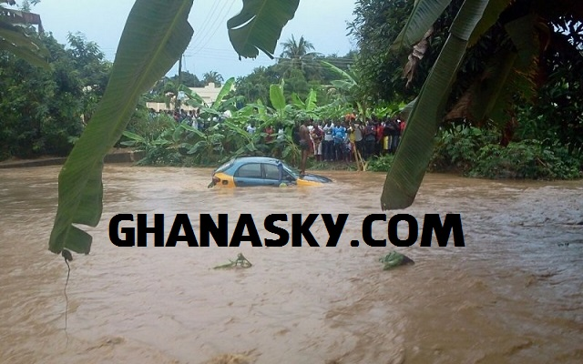 Two die in Koforidua after heavy downpour
