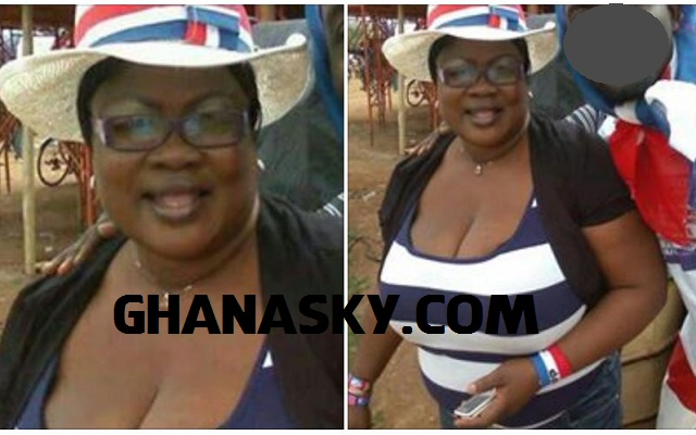 Actress Mercy Asiedu Joined NPP but Not NDC
