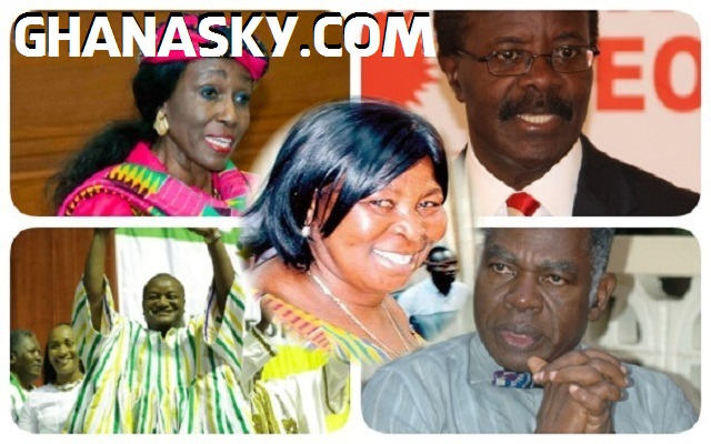 Akua Donkor, Mahama, Nduom, Mrs Rawlings, 8 others disqualified by EC [Video]