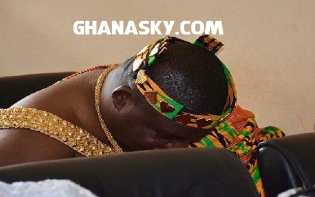 Nii Ayi Bonte II 'shy' at Ga Traditional Council meeting with President-elect Akufo-Addo [Video]