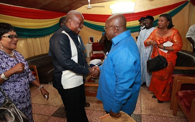 Mahama concedes defeat and congratulates Akufo-Addo [Live TV]
