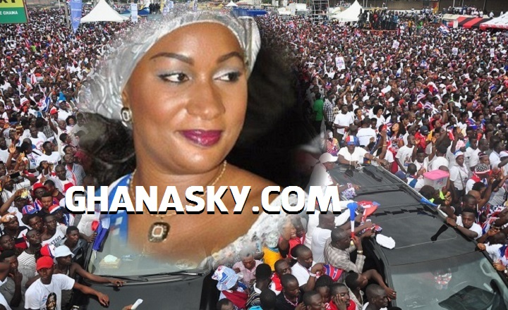 'Almighty incompetent Mahama' - Samira Bawumia [Video]