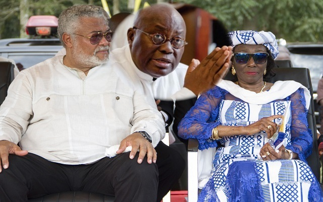 Ghana fortunate to have Akufo-Addo - Rawlings