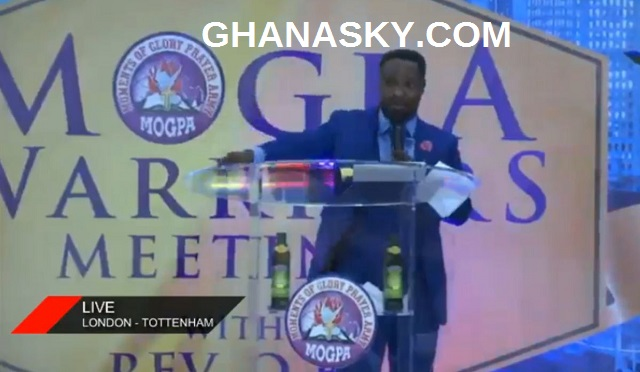 Rev. OB of MOGPA Storms London-Tottenham UK, threaten to churches [Live TV and Video]