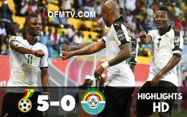 Ghana vs Ethiopia [5:0] All Goals & Highlights - 2019 AFCON Qualifiers