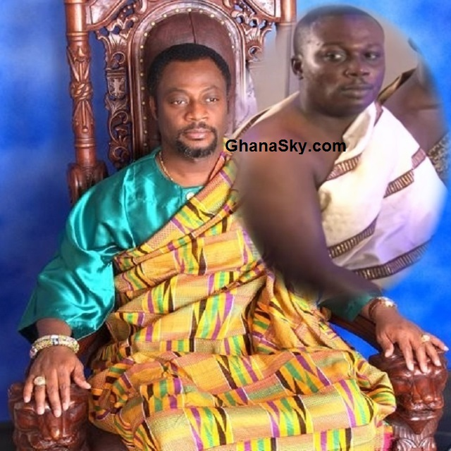 His Royal Majesty Rev. Dr. Kingsley Fletcher (Nene Drolor Bosso Adamtey I) and Prophet Nana David Frimpong