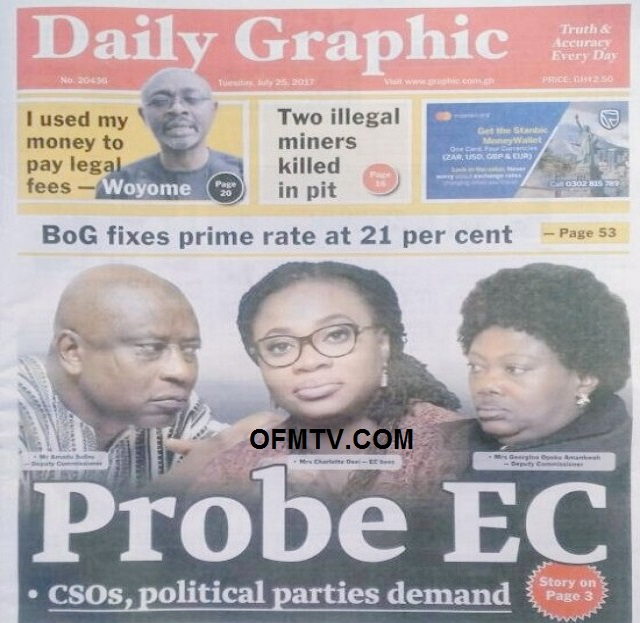 Probe EC - CSOs, political parties demand