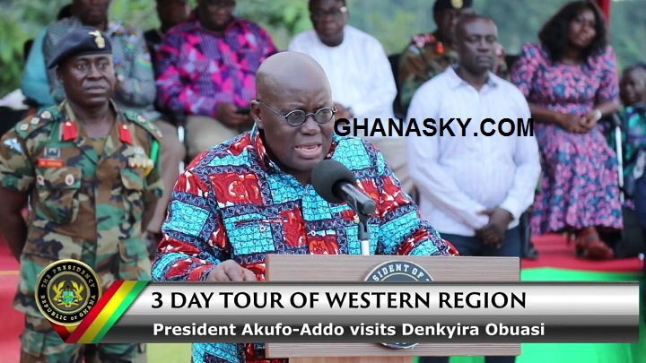 President Akufo-Addo said he won't abandon Denkyira-Obuasi [Video]
