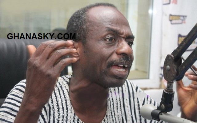 Asiedu Nketia escapes gun attack, wielding AK 47 guns.