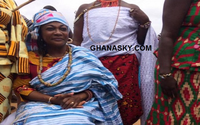 Otiko Djaba enstooled as Queen Mother in Volta Region