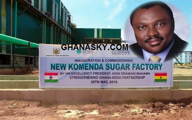 NDC and Mahama deceived Ghanaians, Komenda factory has produced no sugar from sugarcane [Watch Full Video]