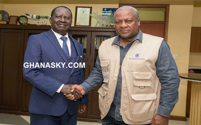 Kenya's opposition leader Raila Odinga rejected Mahama's advice to petition court - Emmanuel Akwetey