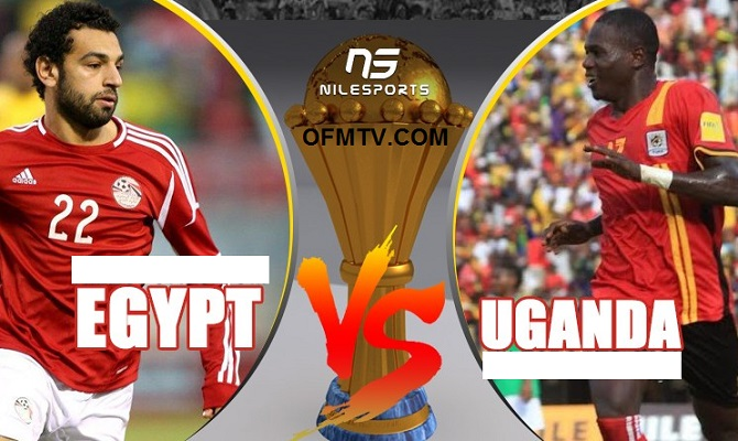 Egypt vs Uganda 1 : 0 - World Cup qualifier 2018