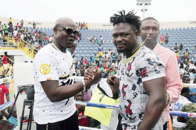 Bukom Banku vs Bastie Samir in 7th round [Video]