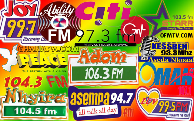 Top 17 Ghanaian Radio Stations 2017 Based On Twitter Followers