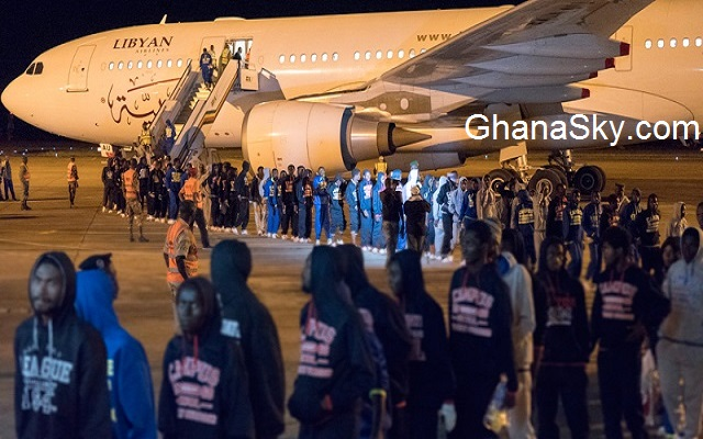 127 Ghanaian detainees in Libya arrive in Ghana [Watch Full Video]