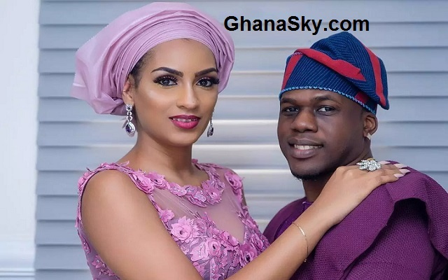 Actress Juliet Ibrahim and Iceberg Slim win couple goals at Banky W's traditional marriage ceremony [Photos]