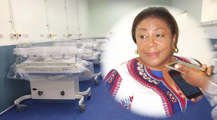 First Lady Rebecca Akufo-Addo, Ghanaians and Multimedia Groups initiative of new Komfo Anokye Teaching Hospital (KATH) Maternity, Is Completed Within 5 Months [Watch Full Video]