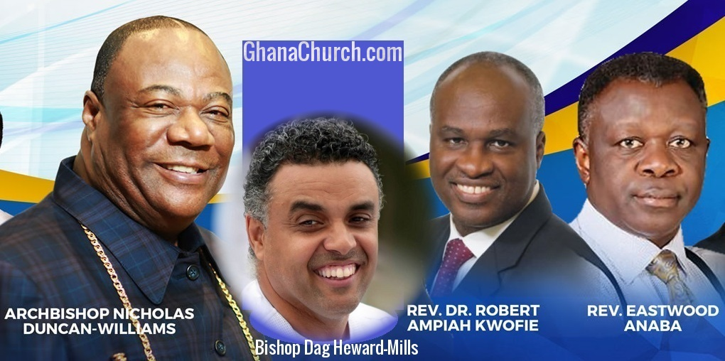 Rev. Eastwood Anaba, Bishop Dag & Dr. Ampiah-Kwofi are sons of Archbishop Duncan-Williams, Papa led Anaba to Christ [Watch Full Video]