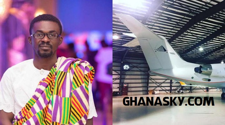 Zylophon Media Boss, Menzgold CEO, Nana Appiah Mensah Acquires A Private Jet Worth $41million [Watch Photos]