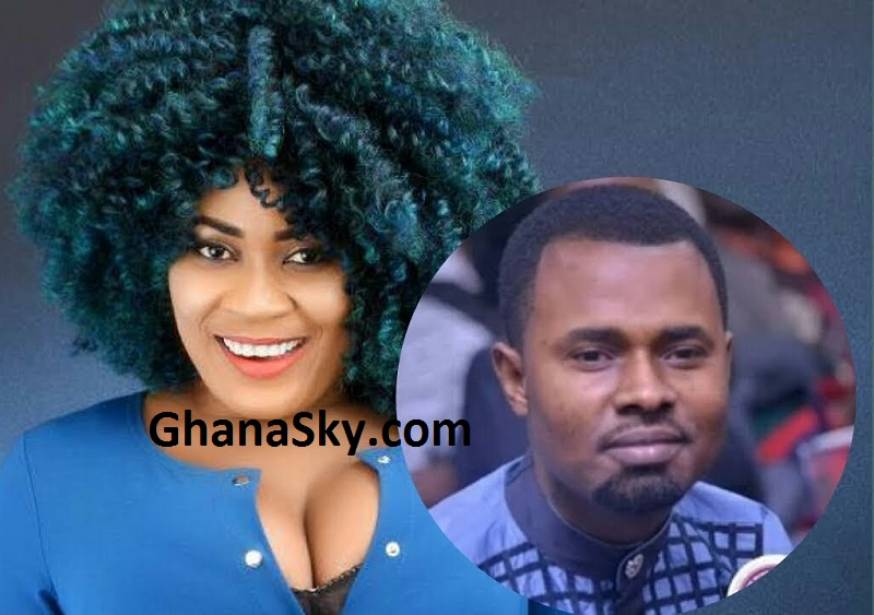 Ernest Opoku Meets His Fornication Meter, Nayas Chased Him But Ernest Escaped Through Back Door