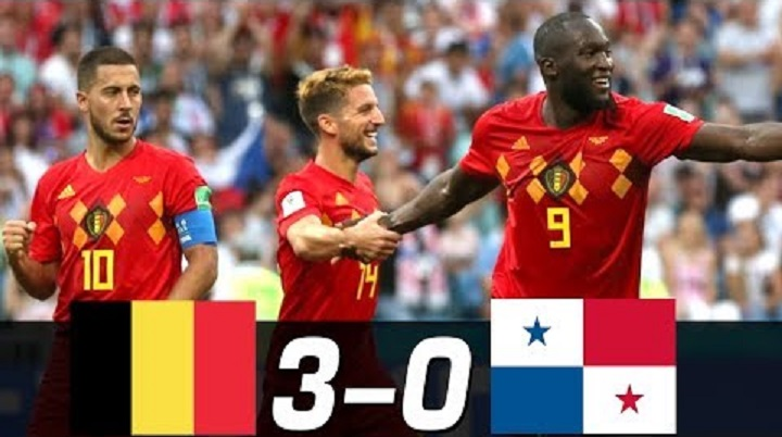 Belgium vs Panama [3:0] Final Score at 2018 Russia FIFA World Cup