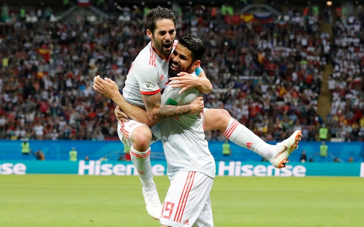 Fortunate Diego Costa goal sees Spain overcome Iran's stubborn resistance