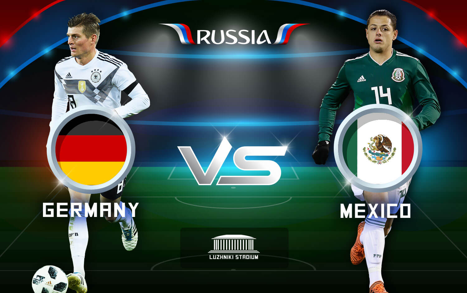 Mexico Shocks Germany With Seismic World Cup Upset