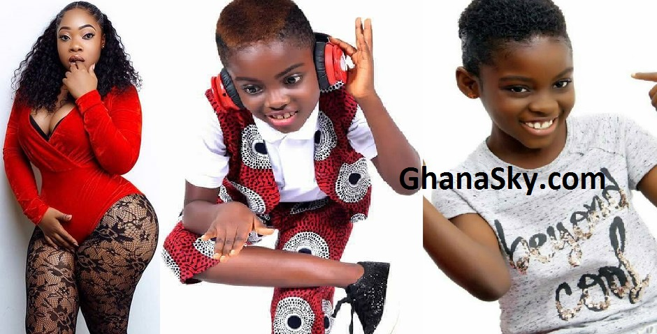 Moesha Boduong And Erica Tando aka DJ Switch of TV3's Talented Kids fame