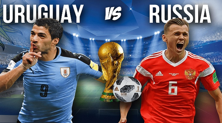Uruguay vs Russia [ 3-0 ] Goals and highlights - FIFA World Cup 2018