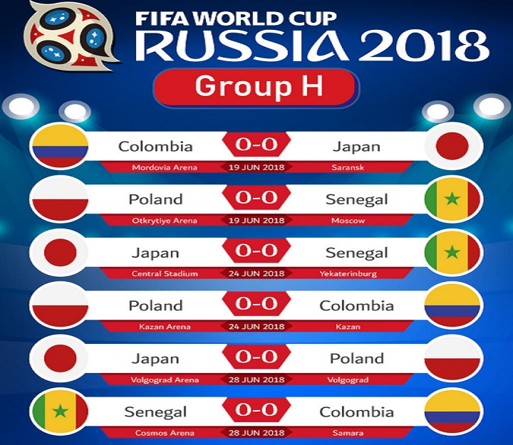 2018 FIFA World Cup Russia™ Group G - Belgium, England, Tunisia & Panama