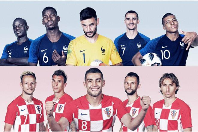 France vs Croatia: France overpower Croatia 4-2 to win FIFA World Cup 2018 Final Trophy [Photos]